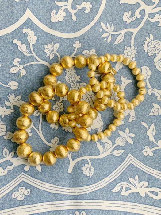 Georgia - Gold Beaded Bracelet