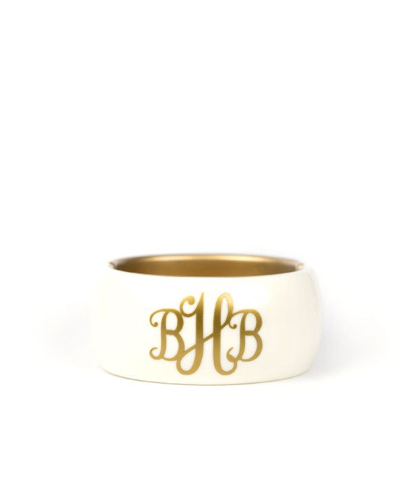 Narrow Cuff - Monogram