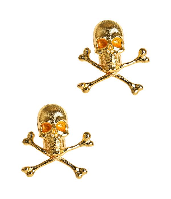 Skull Stud - Gold