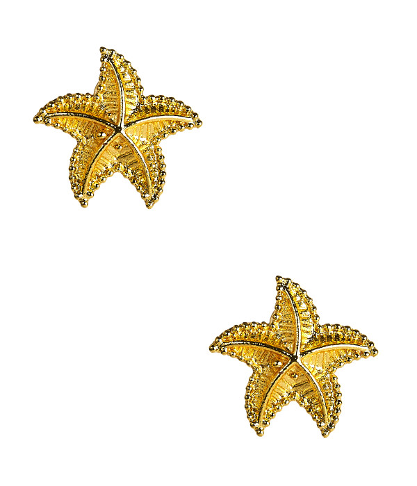 Starfish Stud - Gold