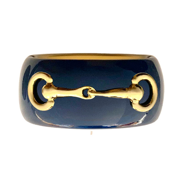 Narrow Cuff Navy