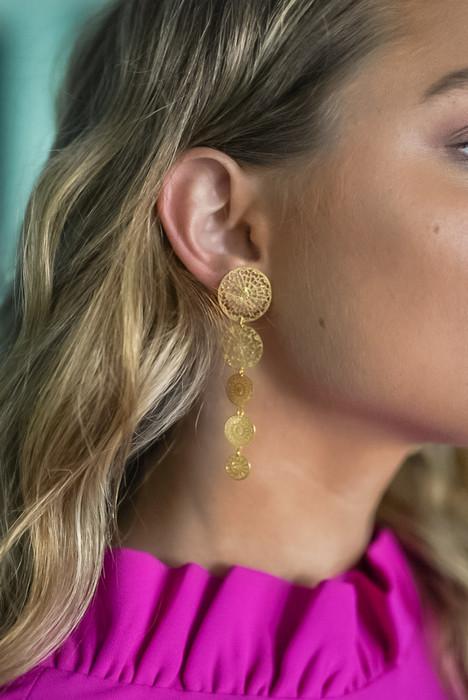 Callie Earring - Gold