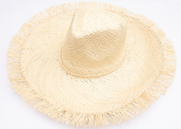 Piper Hat - Raffia Round