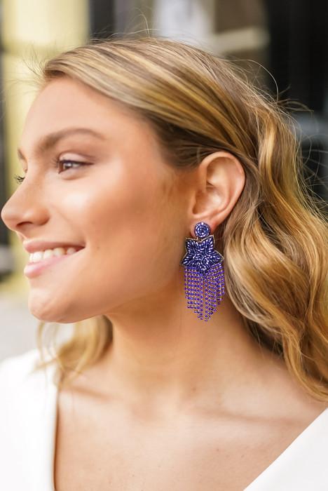 Fringe Star - Earrings