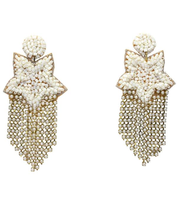 Fringe Star - Earrings - PreOrder