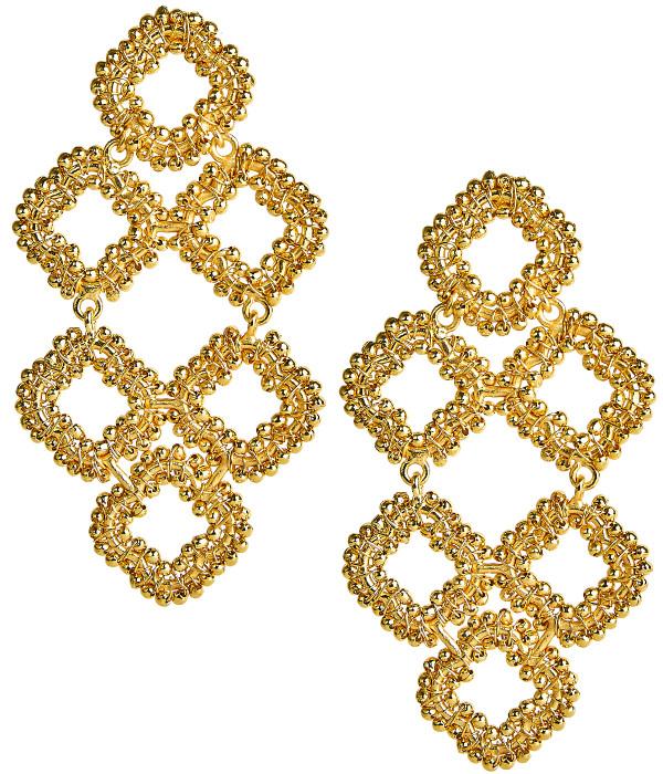 Neely Beaded - Gold
