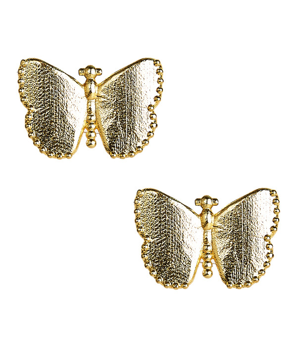 Butterfly Large Stud