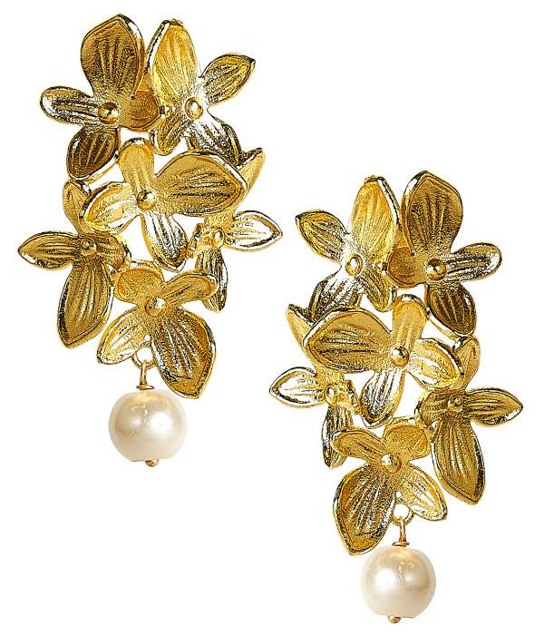 Limelight - Statement hydrangea earrings