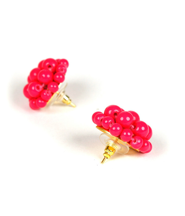 Button - Miss Pink