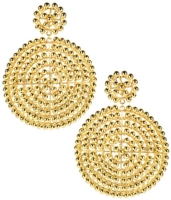 Disk Earrings