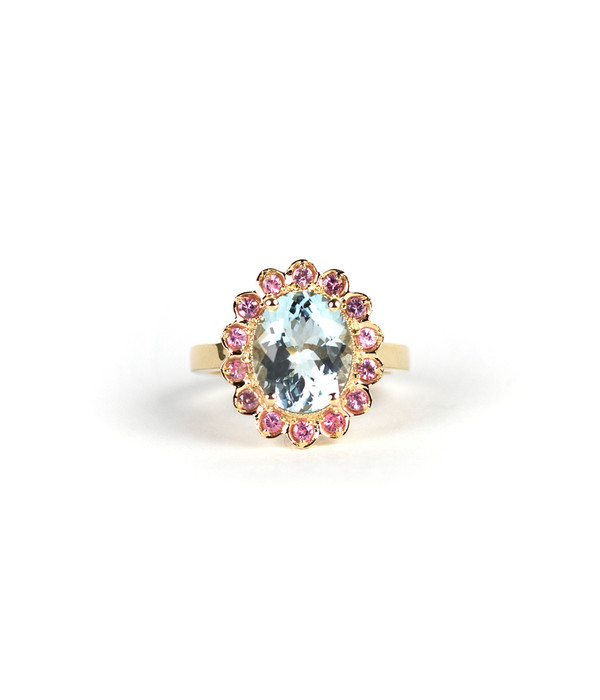 The Real McCoy -Aquamarine &  Pink Spinel