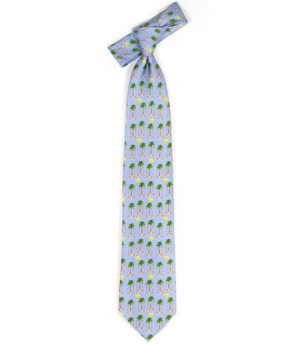 Tie - Blue Monkey Business
