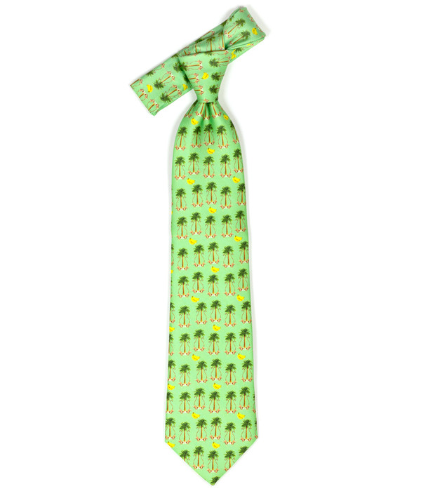 Tie - Green Monkey Business