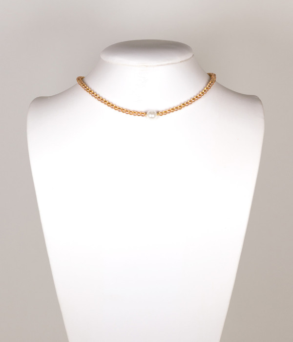 Paige Choker - Champagne & Pearl
