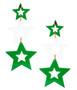 Stella - Acrylic - Green & White FINAL SALE
