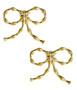 Bamboo Bow - Earrings