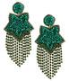 Fringe Star - Earrings - Holiday