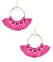 Izzy Gameday Earrings - Miss Pink