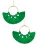 Izzy Gameday Earrings - Emerald