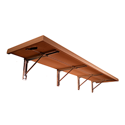 Wall Mounted Folding Benches