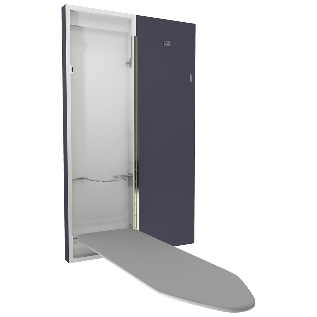 Wall Mounted Deluxe Ironing Board Grey