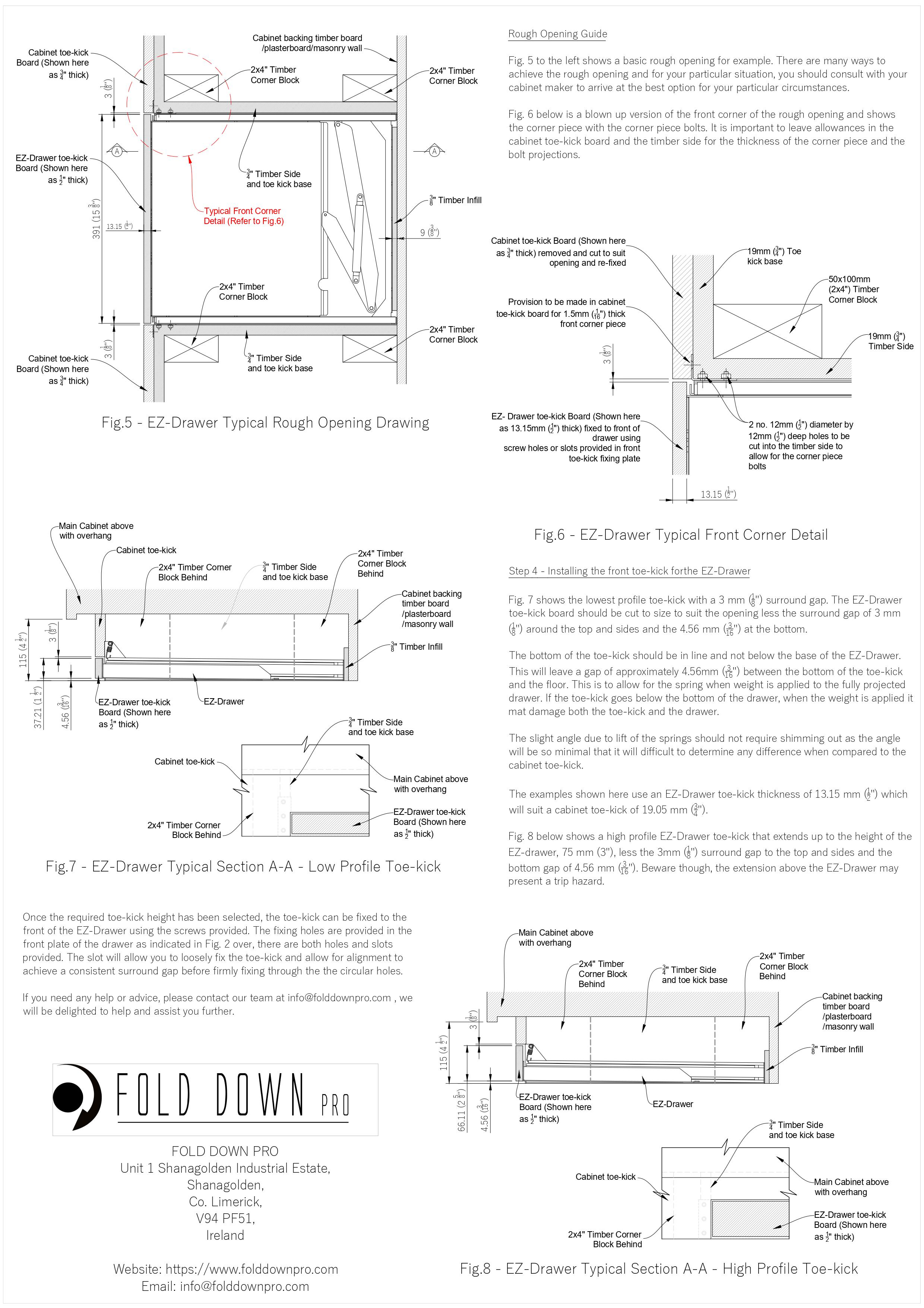EZ-Drawer Instructions Page 2