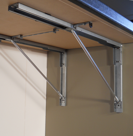 Wall Mounted Folding Brackets