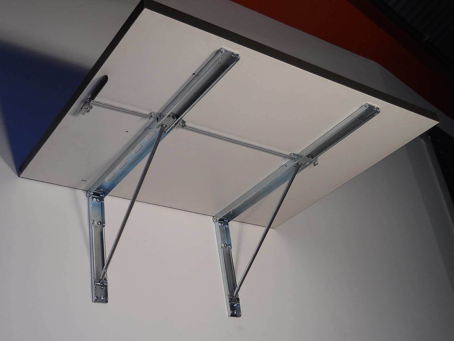 Wall Mounted Folding Table From Under