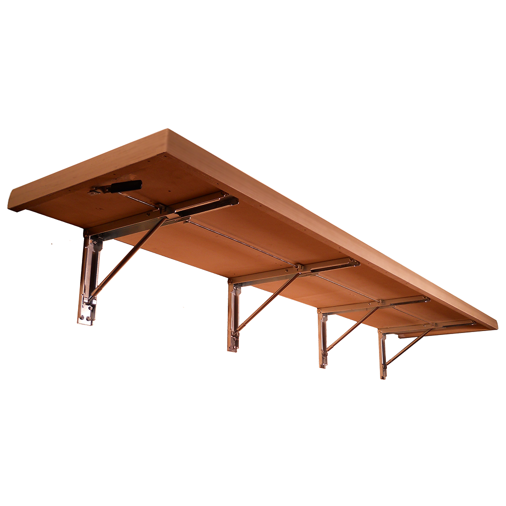 Wall Mounted Fold Down Bench