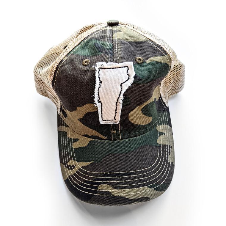 GRACIE VERMONT TRUCKER HAT
