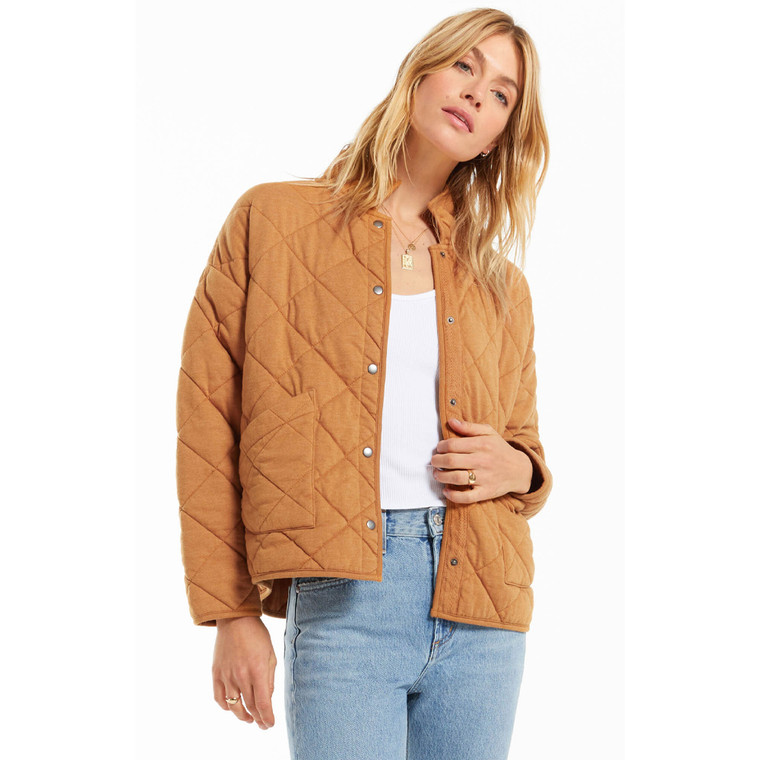 Z Supply Women's Maya Quilted Jacket