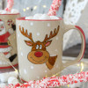 14 oz Santa's Elves Mugs Rudolph