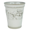 Two 11 oz. Embossed Running Horse Julep Cups