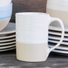14 oz Mug in White - Louisville Pottery Collection