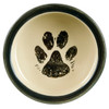 "5"" Rimmed Pet Food Bowl - Inside"