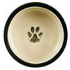 "9"" Rimmed Pet Water Bowl - Inside"