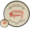 "Personalized 16"" Round Dad's World Famous BBQ Platter with Bowl Set - Inside of Bowl"