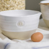 #1 Louisville Pottery Collection Nested Mixing Bowl in White