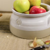 2-qt. Louisville Pottery Collection Casserole in White