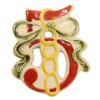 5 Golden Rings Twelve Days of Christmas Ornament