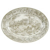 "19"" Embossed My Old Kentucky Home Oval Platter"