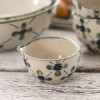 4 oz  Spouted Nesting Bowl in French Country