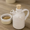 1/2 Louisville Pottery Collection Creamer and Sugar Dish Set
