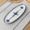 "20"" Antipasto Tray with Bowl in Bachelor Button"