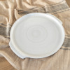 "10"" Round Handle Tray / LPC White"