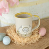 14 oz Bunny Easter Mug in Yellow