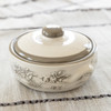 1 qt Round Casserole and Cover in Embossed Running Horse