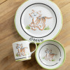 Personalized 3-Piece Child's Place Setting with Tiger
