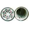 "10.5"" Wine Cooler Saucer in Holly Graffiti"