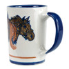 14 oz 3 Horse Heads mug
